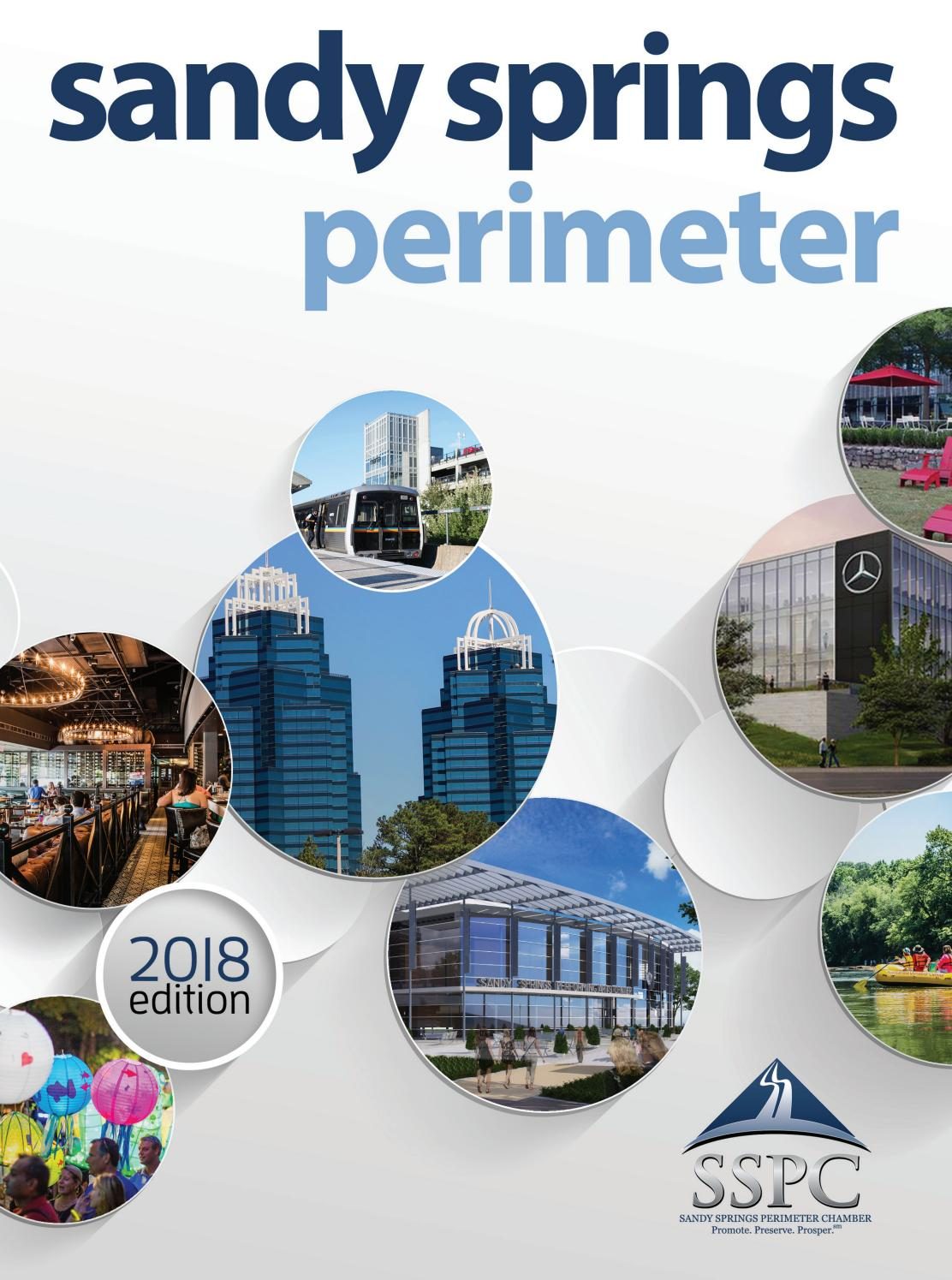 Sandy Springs Perimeter Chamber Guidebook 2018 by Encore