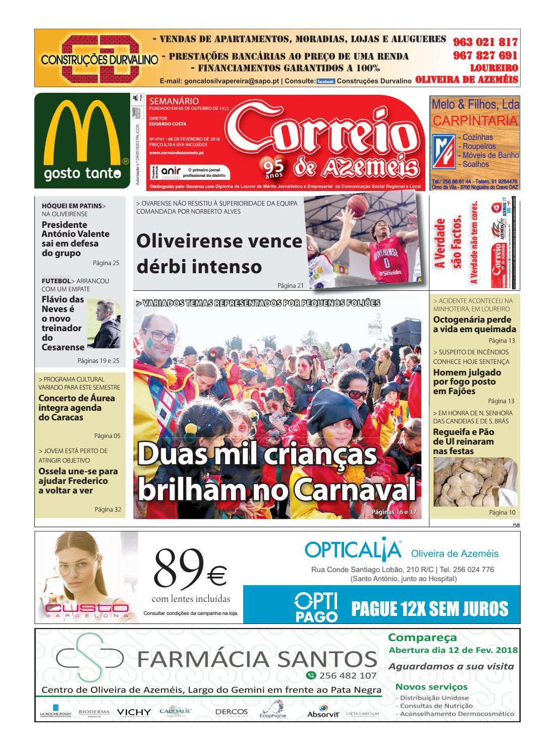 6 01 2018 by Correio de Azeméis - issuu 3d29a715ca5cb