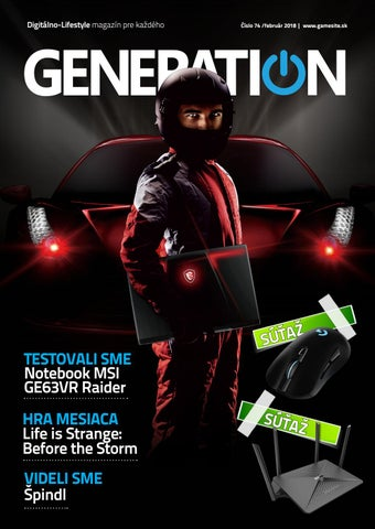 f8ab84c0d Generation magazín #074 by Generation magazine - issuu