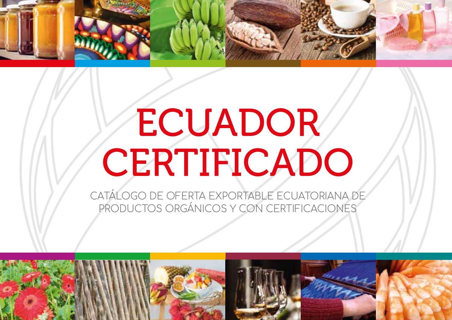Ecuador Certificado MCEI by Ministerio de Comercio Exterior MCE - issuu cae1e88601f