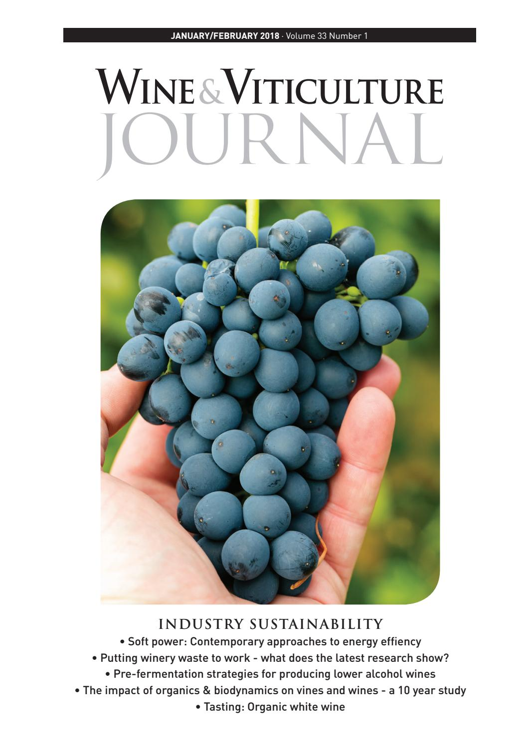 Wine & Viticulture Journal - January/February 2018 by ...