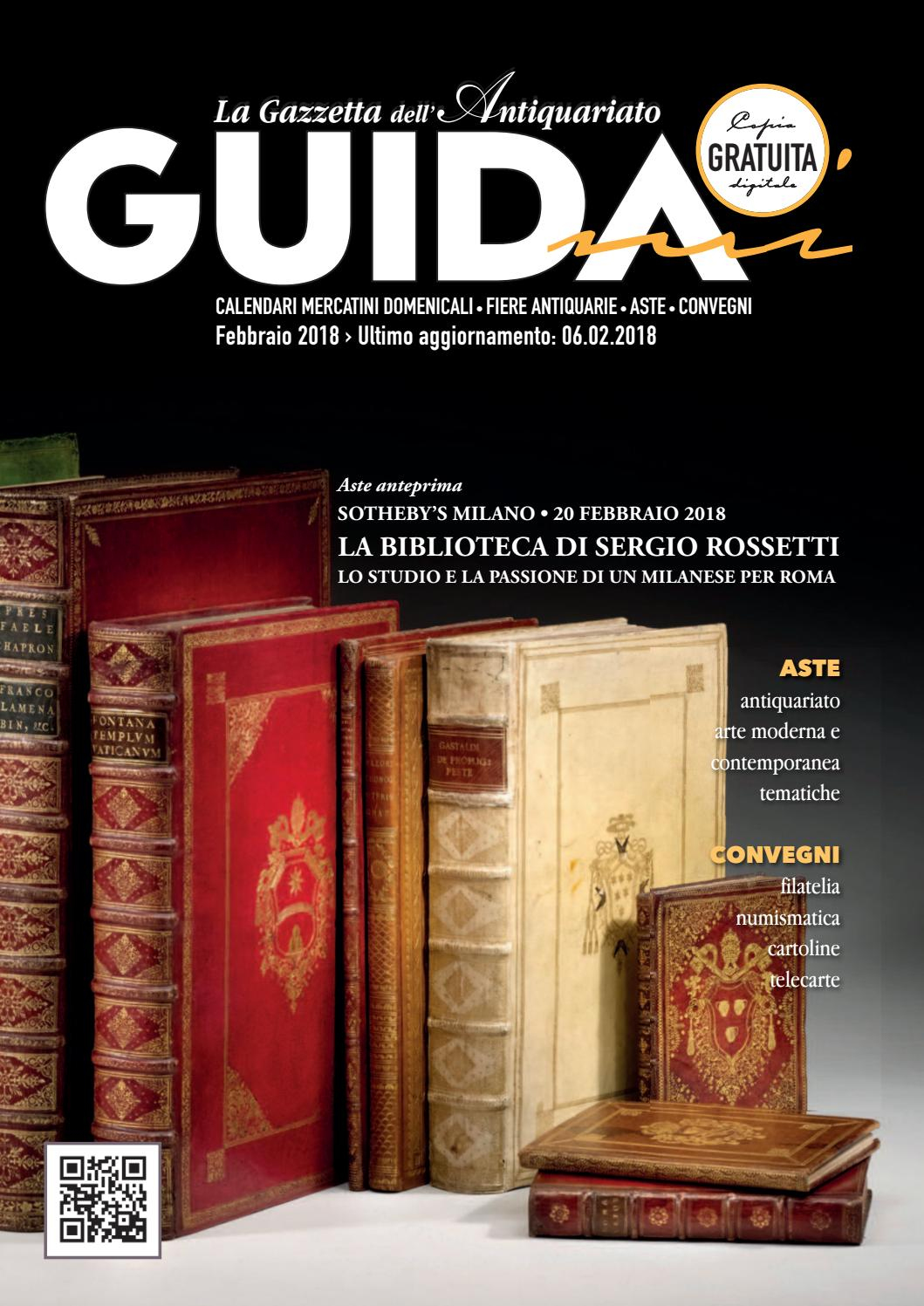 Calendario Aste Antiquariato Italia.Guidami Febbraio 2018 By La Gazzetta Dell Antiquariato Issuu