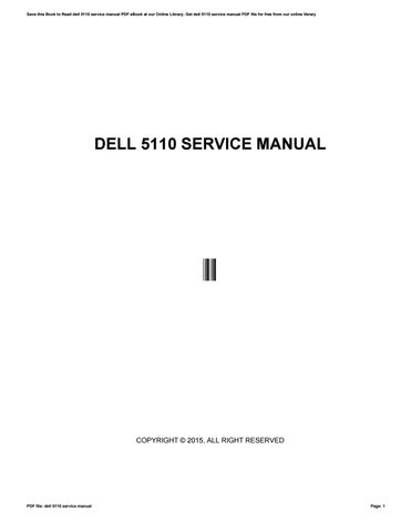 dell 5110 service manual by 50mb85 issuu rh issuu com 5110 Dell Grey Dell 5110 Printer