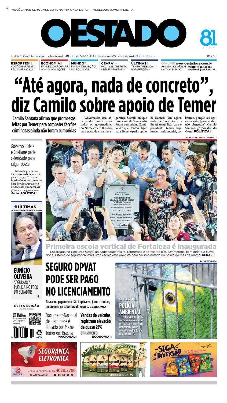 26b5a4fdab 06 02 2018 -Edição 23210 by Jornal O Estado (Ceará) - issuu