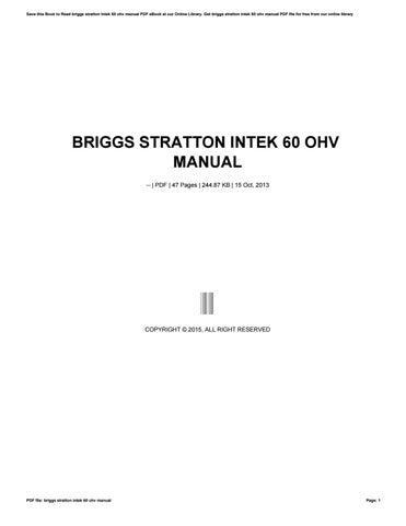 briggs and stratton manual model 5s ebook rh briggs and stratton manual model 5s ebook tem