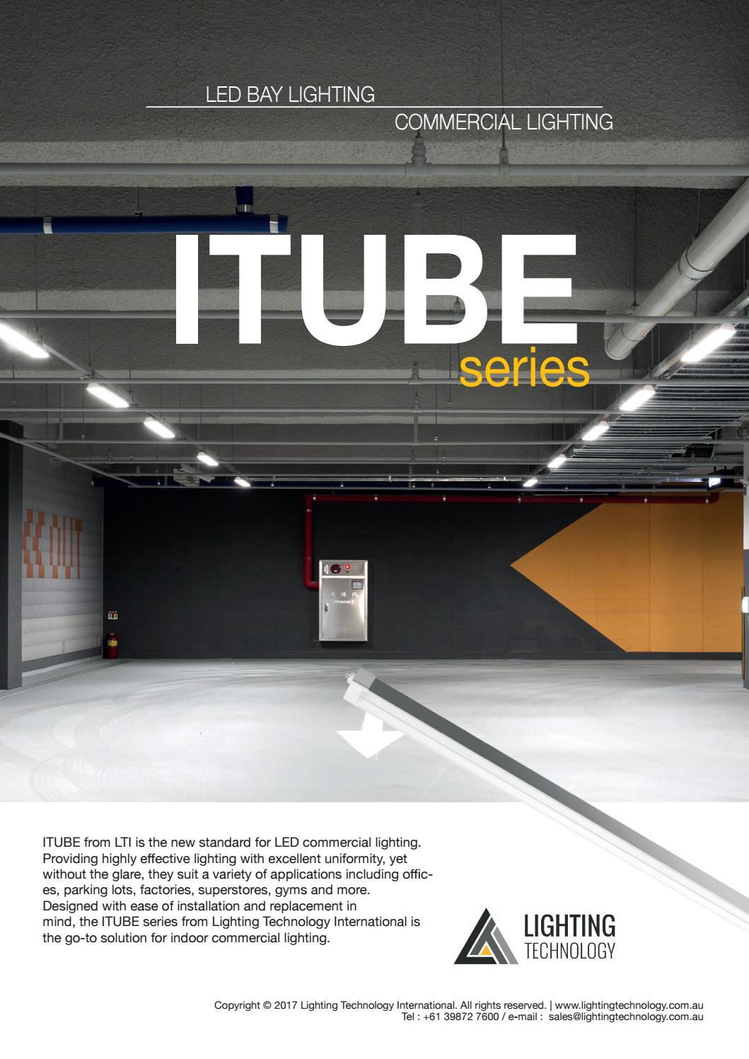 Itube series led commercial lighting in australia by lighting itube series led commercial lighting in australia by lighting technology by lighting technology issuu aloadofball Image collections