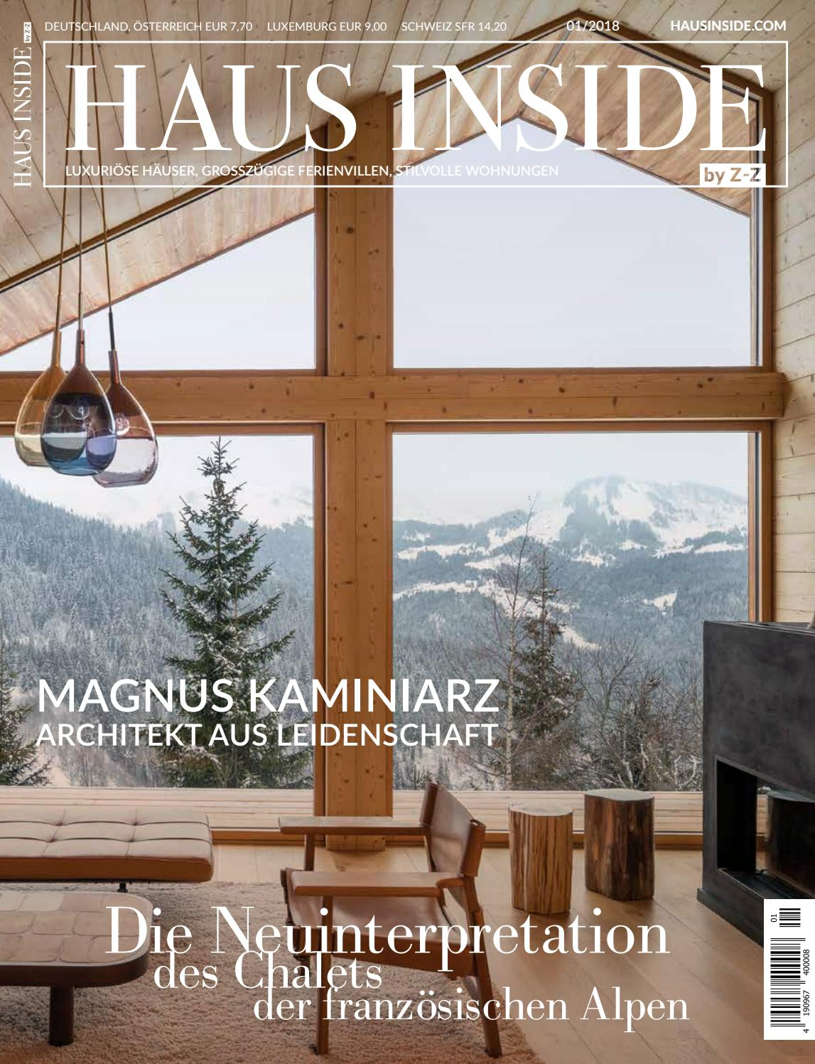 HAUS INSIDE by Z-Z Winter 2018 by HAUS INSIDE - issuu