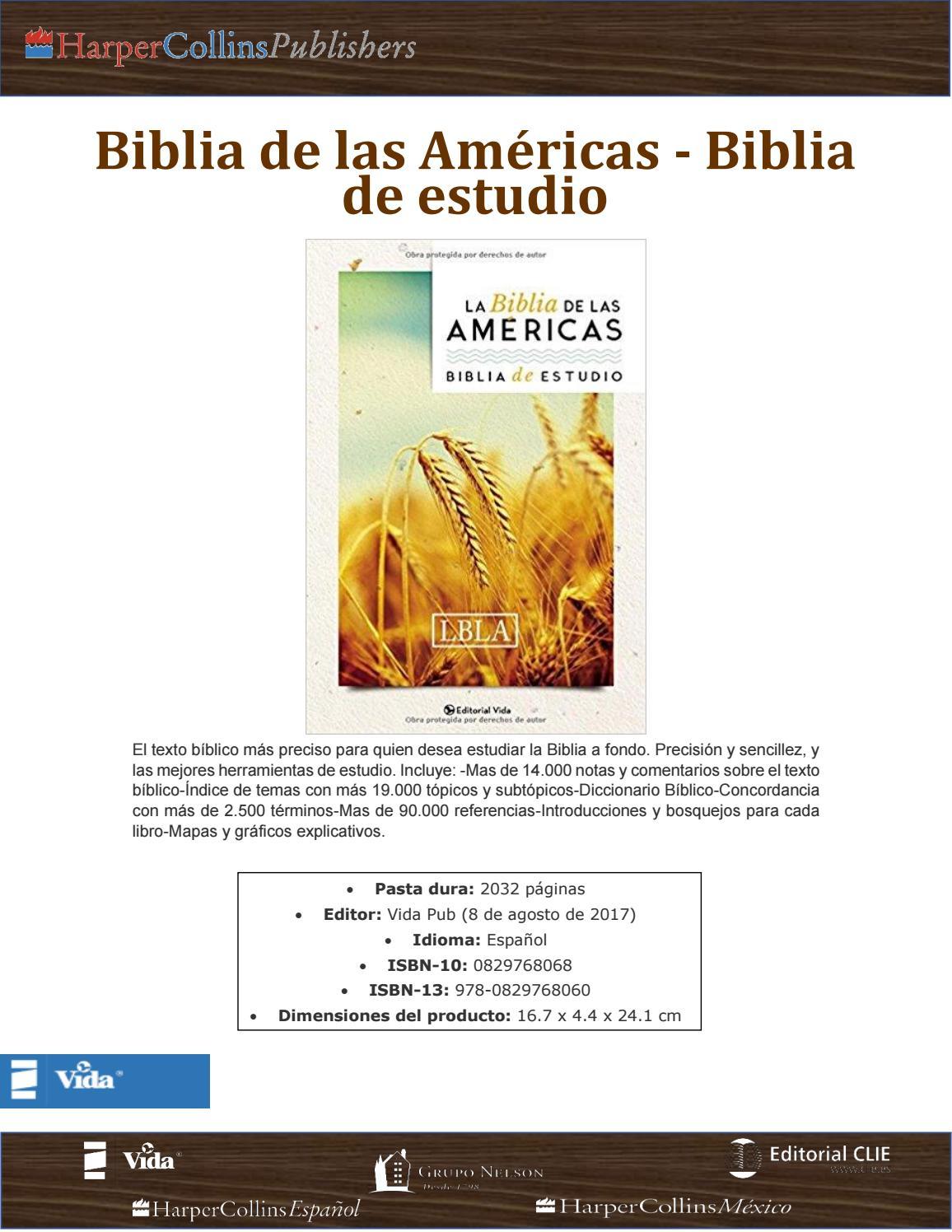 Catálogo Grupo Nelson, Editorial Vida Interconfesional by Luis García  Harper Collins México - issuu