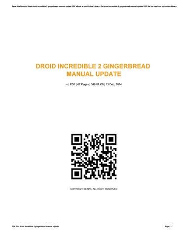 droid incredible manual
