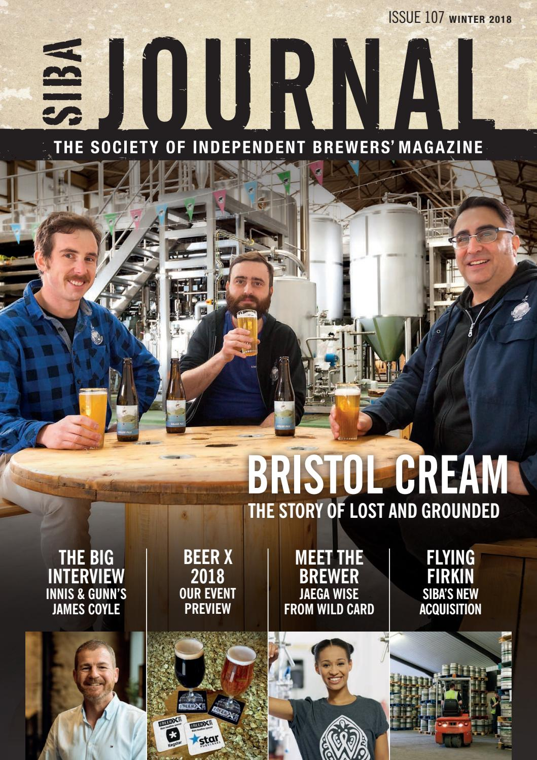 Siba journal winter 2018 by SIBA, the Society of Independent Brewers