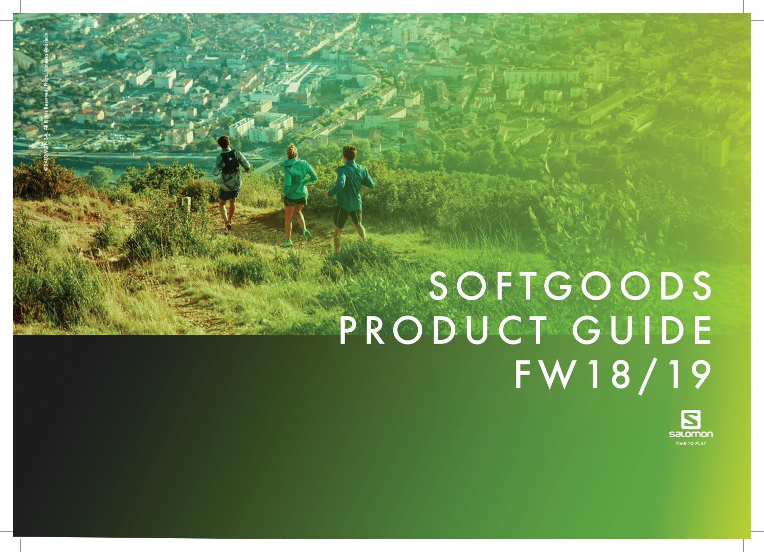 f3e3bd454178 Softgoods Product Guide FW18 19 by Salomon - issuu