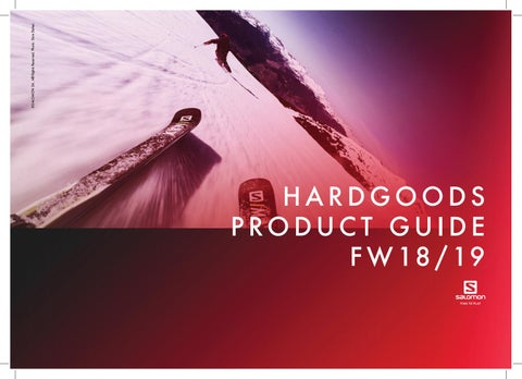 8ff9f4b01b6 Hardgoods Product Guide FW18 19 by Salomon - issuu