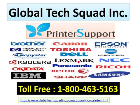Support For All Printer @ Call [1-800-463-5163] by Stella