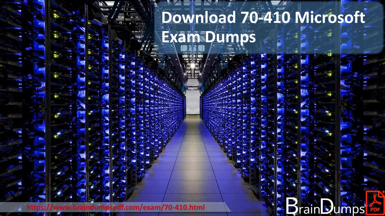 Download 70 410 Microsoft Exam Dumps By Sarahwayneznh Issuu