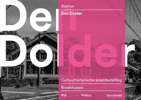 Station Op Wielen Houten.Waardestelling Station Den Dolder By Stations Issuu