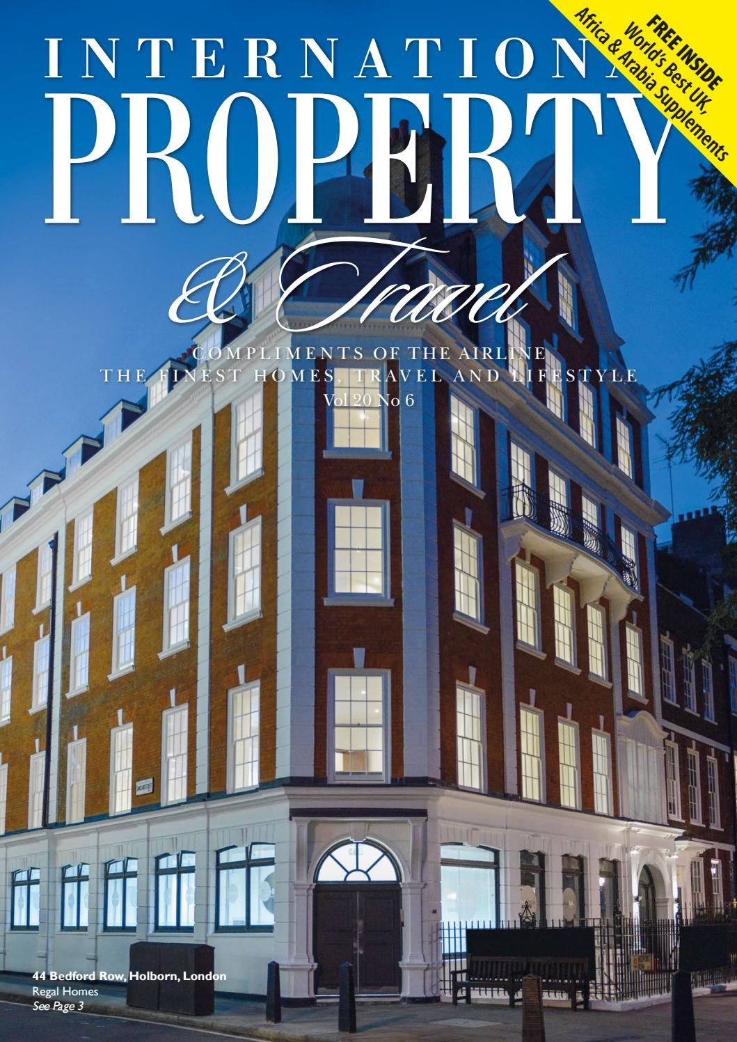 International Property & Travel Volume 20 Number 6 by International
