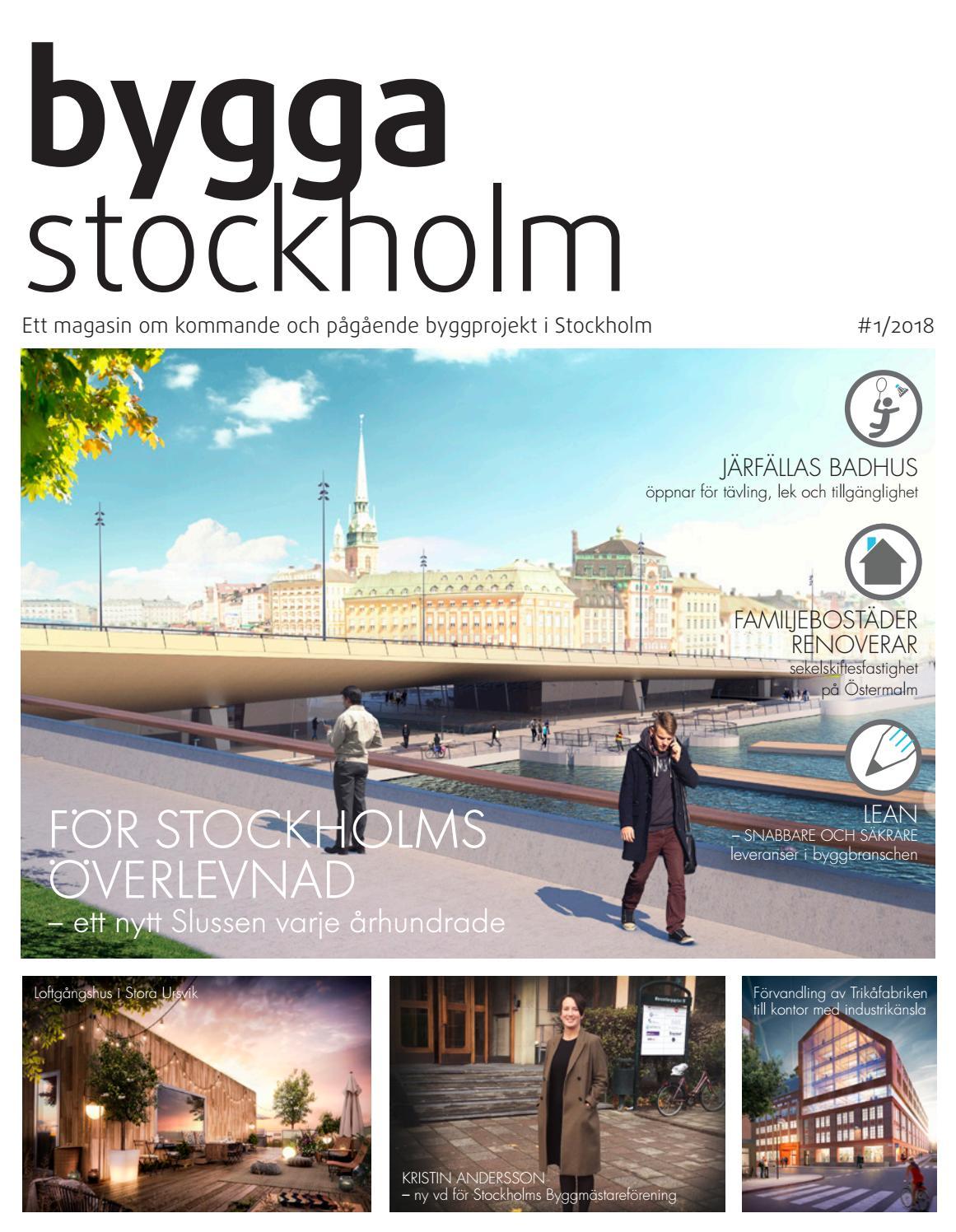 Stockholms stad lovar nya skisser av slussen