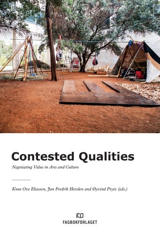 932c6129361 Contested qualities by Kulturrådet - issuu