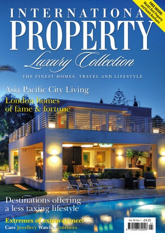 International Property Travel Volume 20 Number 1 By