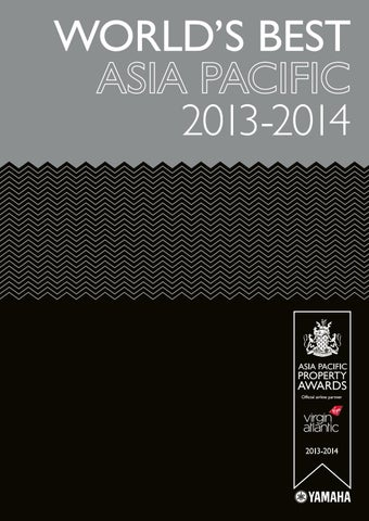 Asia Pacific's Best 2013-2014 by International Property Media - issuu