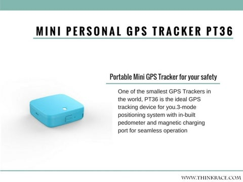 Smallest GPS Tracking Device By ThinkRace Technology