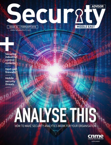 Security Advisor Middle East | Issue 24 by Security Advisor Middle