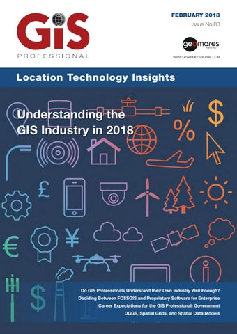 Gis professional february 2018 by Geomares Publishing - issuu