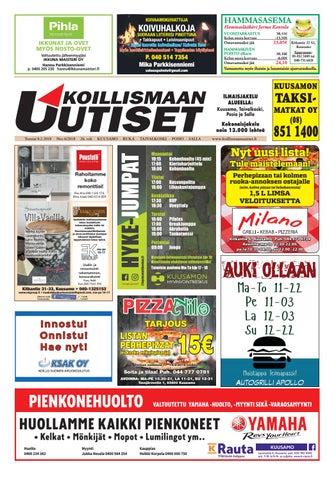Koillismaan uutiset 6 2018 by Koillismaan Uutiset Oy - issuu a75d88e7cc