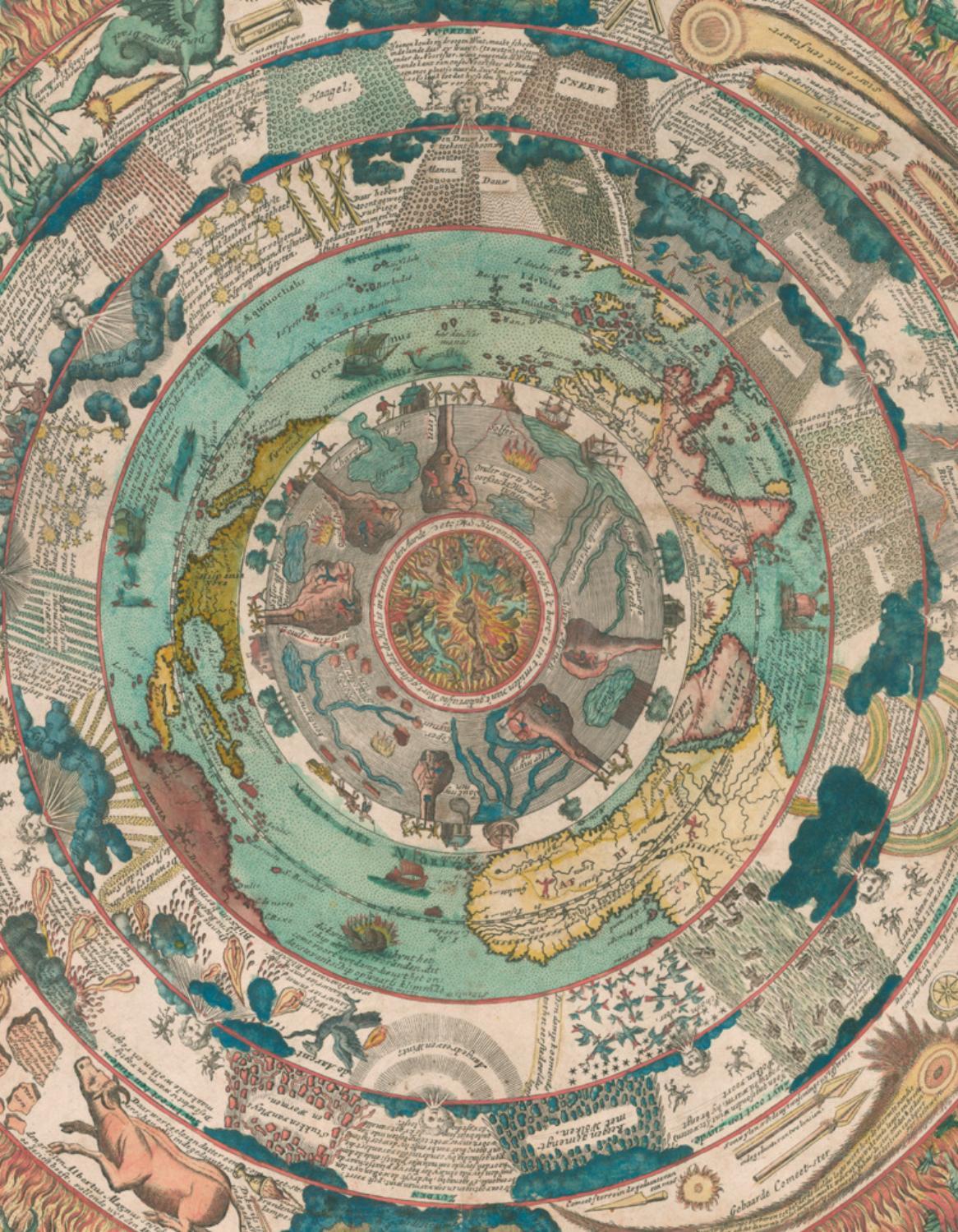 Carte de découverte Cross Stitch Chart-Old Style Carte Du Monde