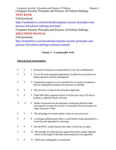 Security practice pdf principles william and computer stallings