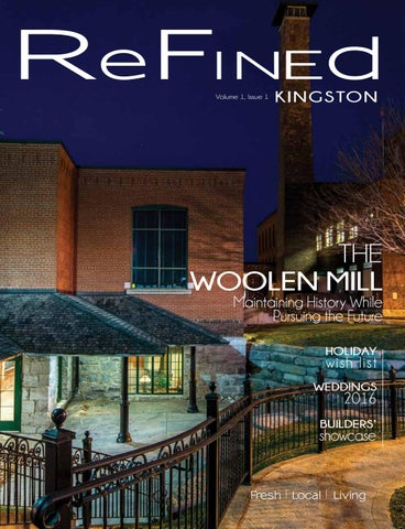 7696980ded Volume 1 Issue 1 by Refined Kingston Magazine - issuu