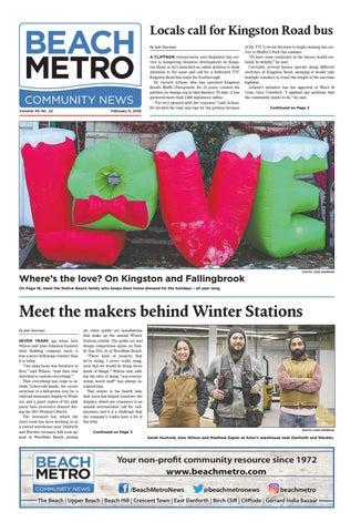 Metro Tannenbaum.Beach Metro News February 6 2018 By Beach Metro News Issuu