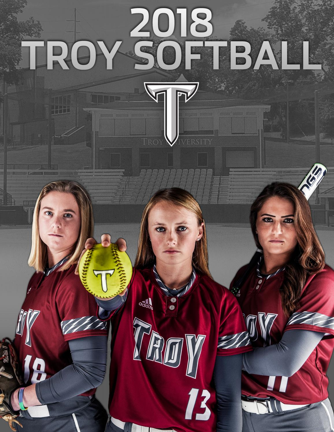 2018 Troy Softball Media Guide by