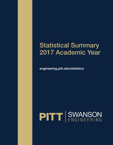 2017 statistical summary by pitt swanson school of engineering issuu page 1 fandeluxe Images