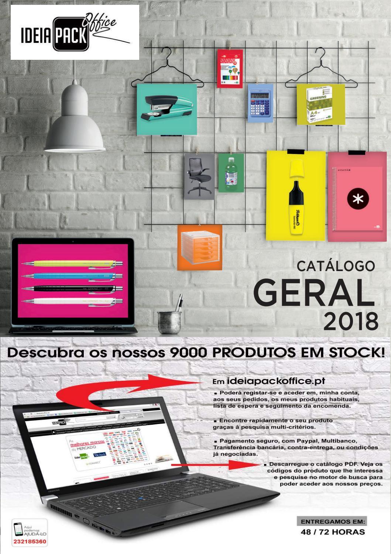 1b4f193758362 Catálogo 2018 ideiapackoffice by Luis Armenio Almeida - issuu