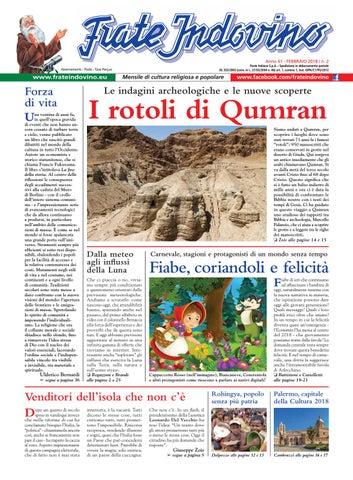 Calendario Liturgico Qumran.Febbraio By Edizioni Frate Indovino Issuu