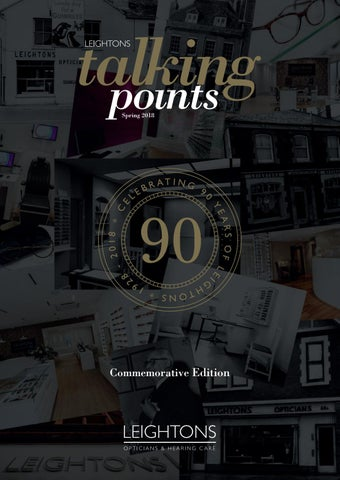 160db281b8a Leightons Talking Points 90 Year Commemorative Edition (Spring 2018 ...