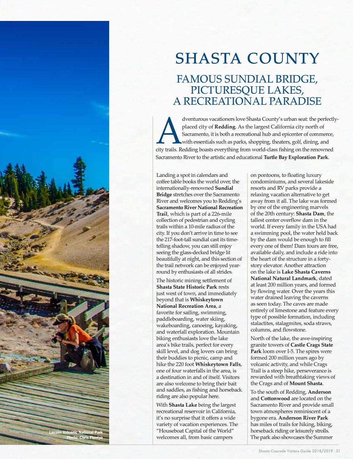 2018 Shasta Cascade Visitors Guide by Shasta Cascade