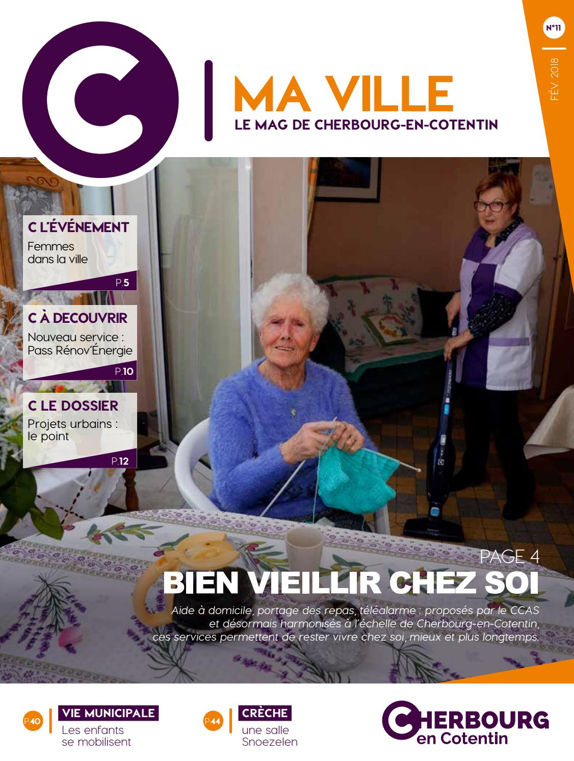 C MA VILLE  11 - le mag de Cherbourg-en-Cotentin by Ville de  Cherbourg-en-Cotentin - service communication - issuu 3c4f9f19326