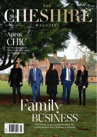 The Cheshire Magazine March 2018 By Runwild Media Group
