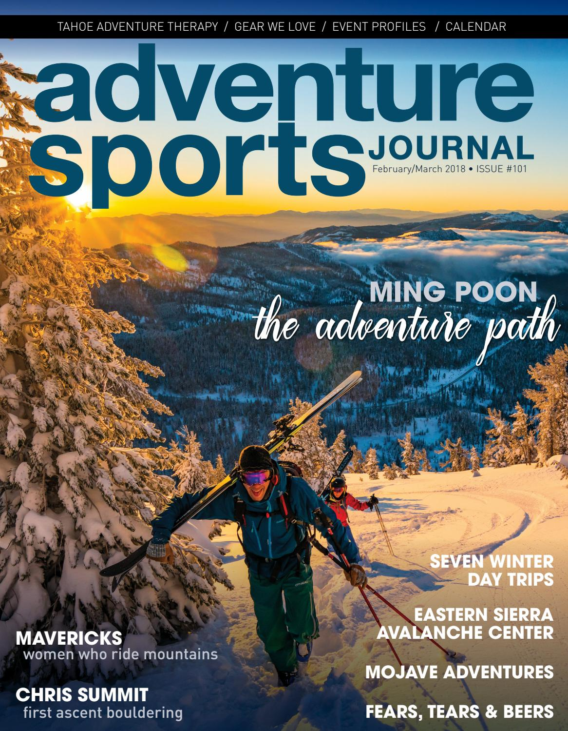 Adventure Sports Journal // Feb/March 2018 // #101 by