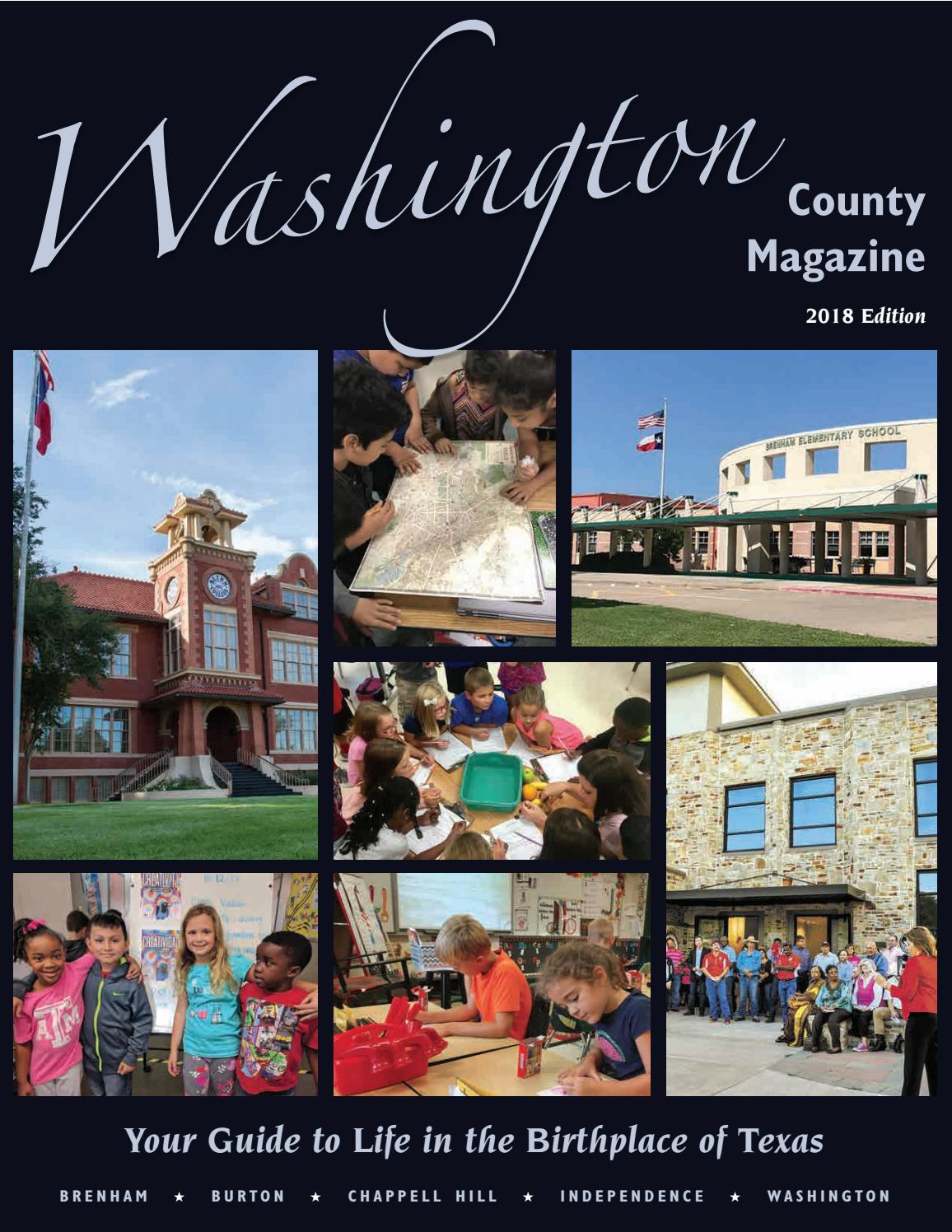 2018 Washington County Magazine By Chambercvb Issuu Alexandre Christie Ac 6444 Mc Silver Black Cream