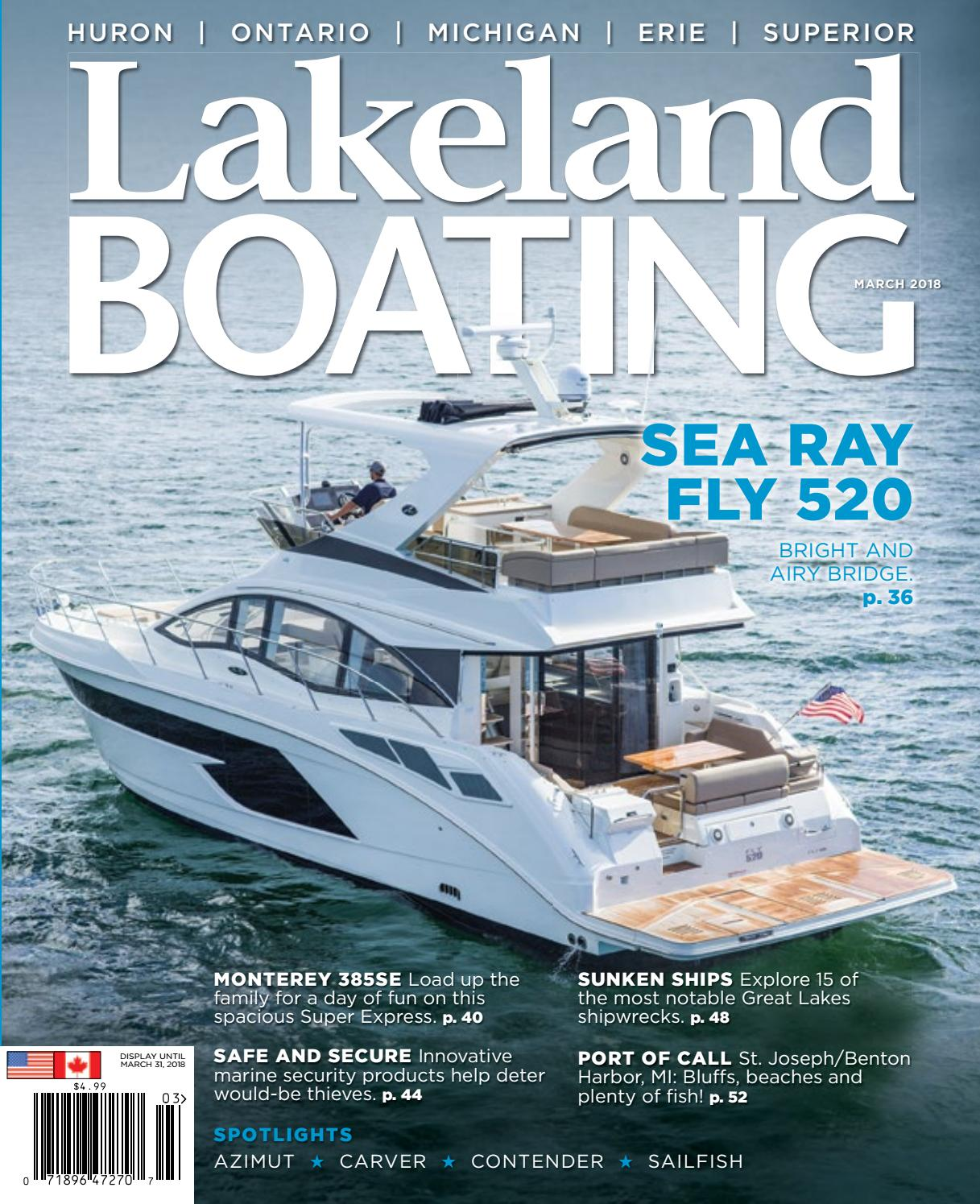 march 2018 by lakeland boating magazine issuu march 2018 by lakeland boating magazine
