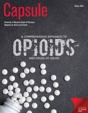 Capsule Winter 2018 By University Of Maryland School Of Pharmacy Issuu