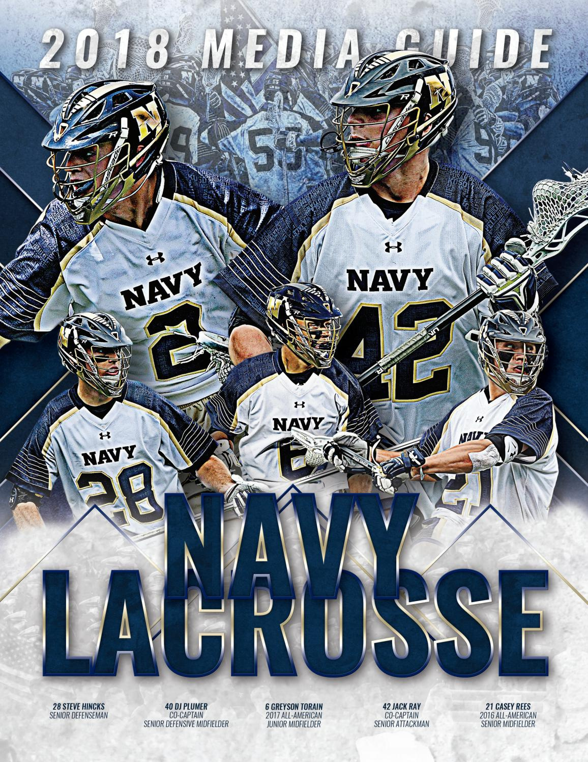 2018 Mens Lacrosse Guide By Naval Academy Athletic Association