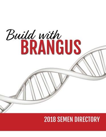 2018 Sire Directory by International Brangus Breeders Association