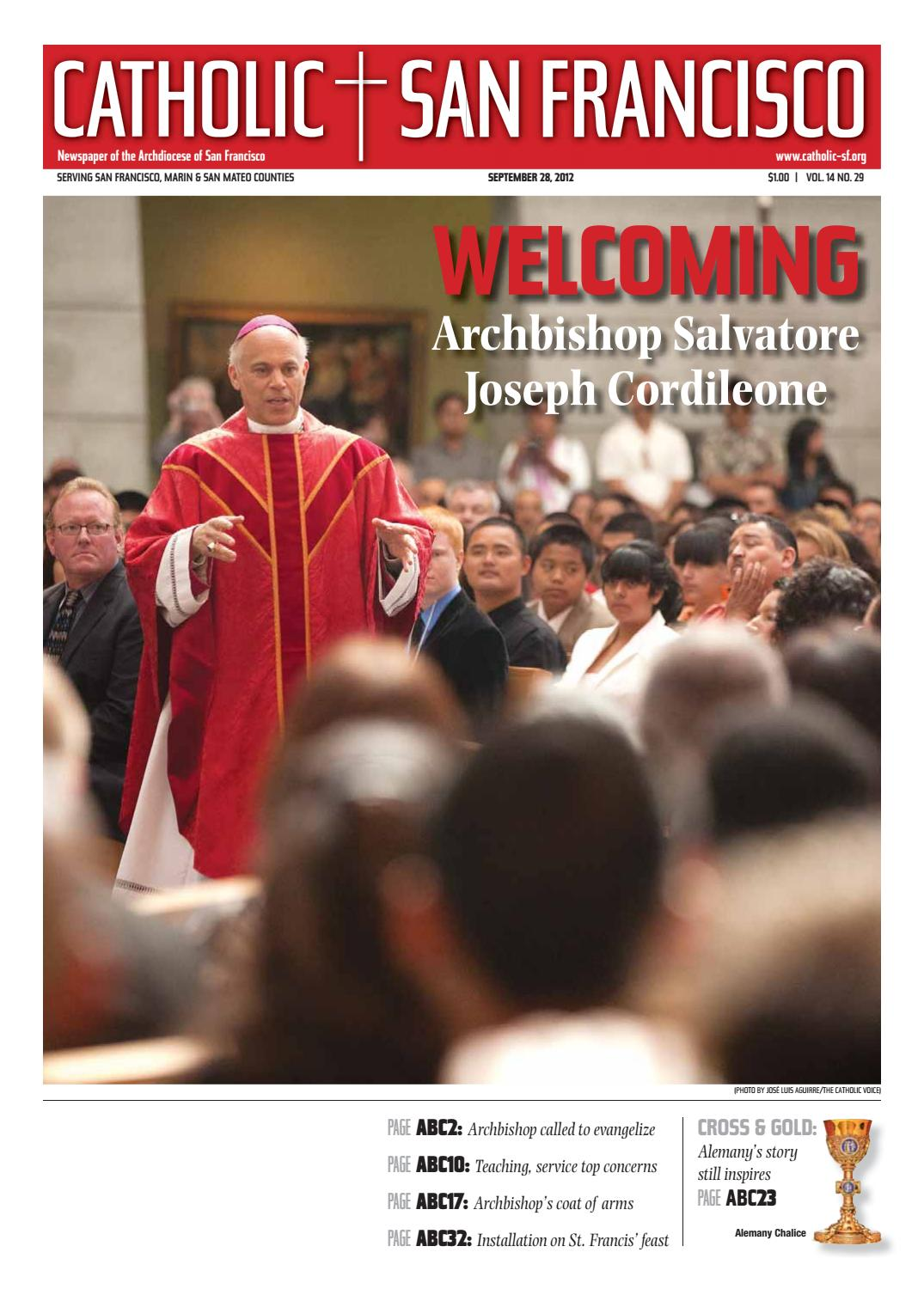 September 28, 2012 – Welcoming Archbishop Cordileone by Catholic San