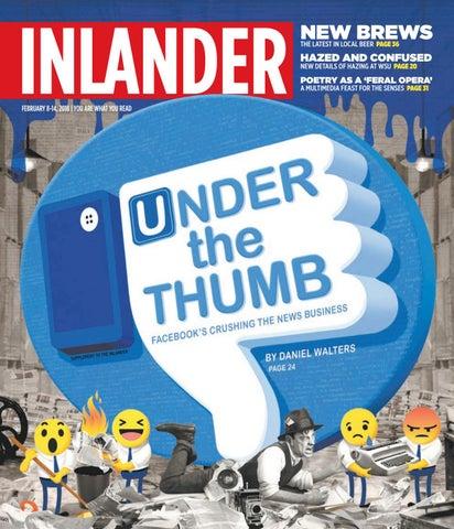 Inlander 02 08 2018 By The Inlander Issuu