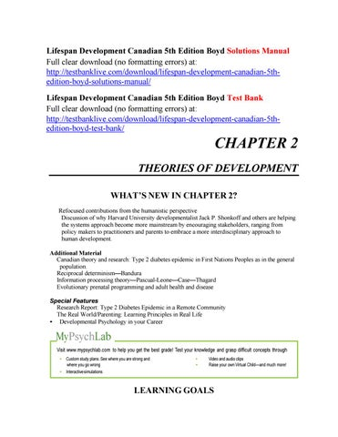 Lifespan Development Boyd Pdf