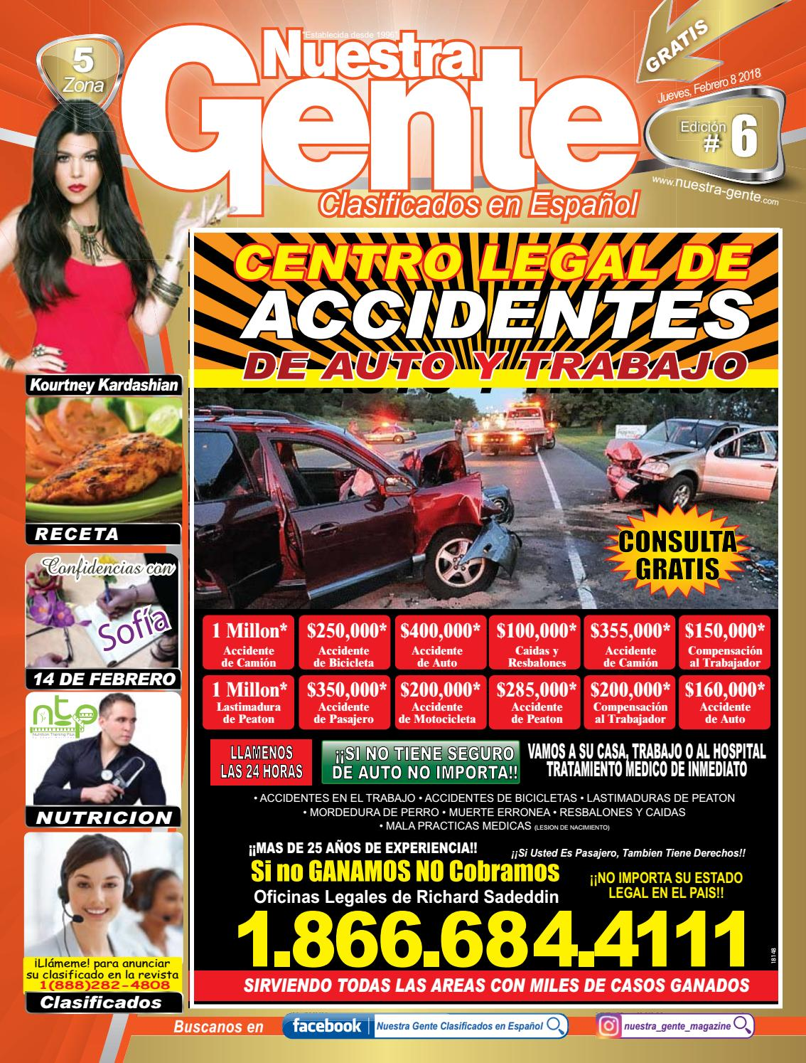 Nuestra Gente 2018 Edicion 6 Zona 5 by Nuestra Gente - issuu